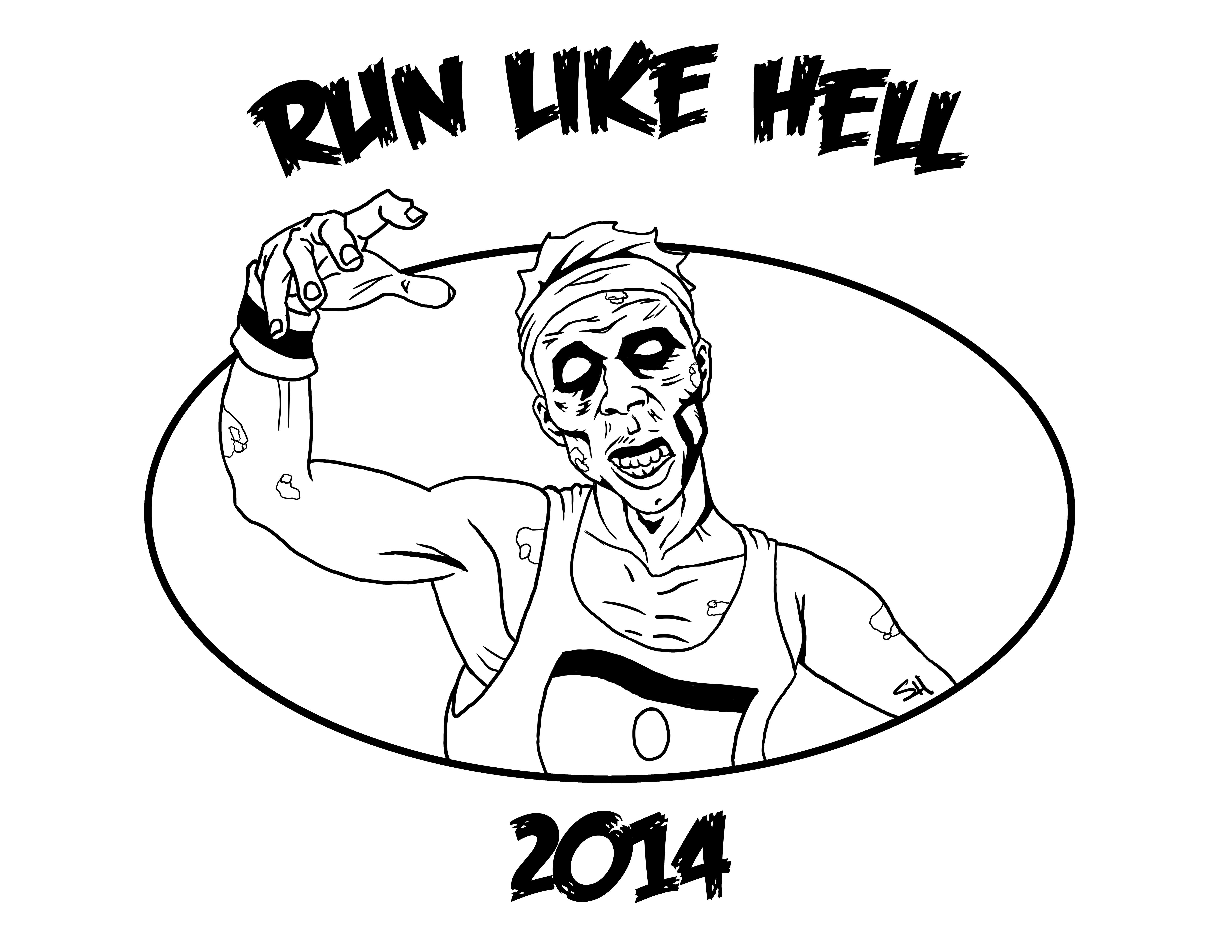 run like hell zombie 5k
