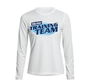white training team shirt Women
