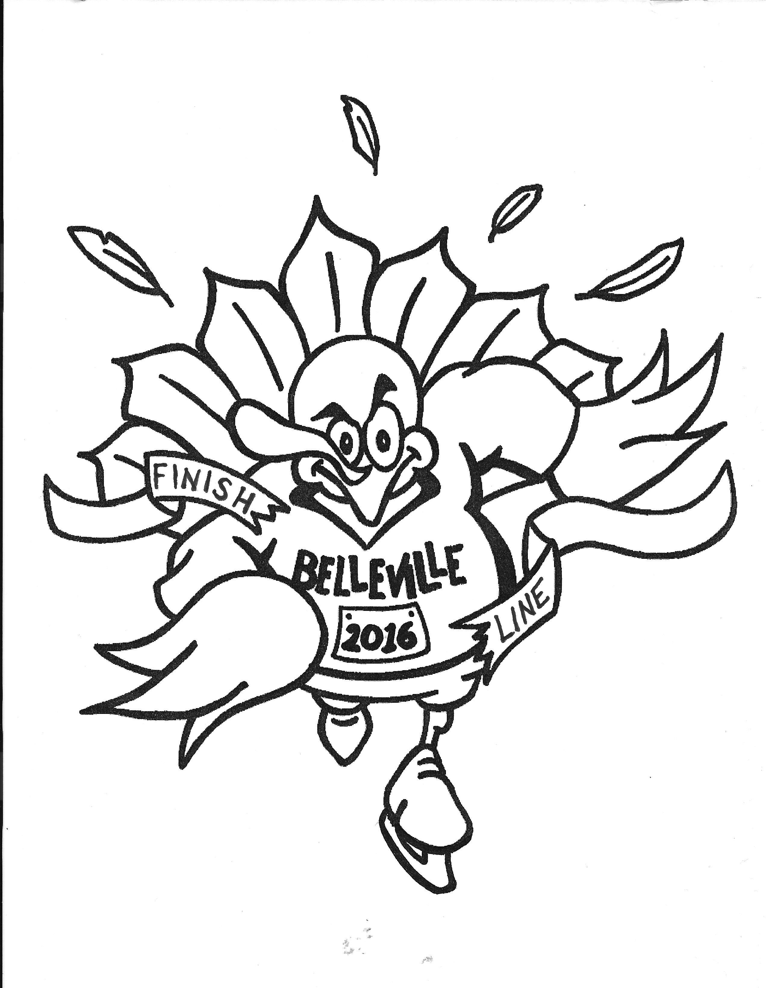 the belleville thanksgiving 5k run and turkey chase